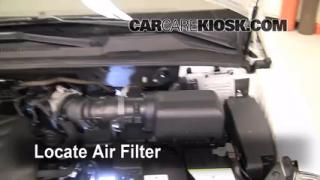2006-2014 Kia Sedona Engine Air Filter Check