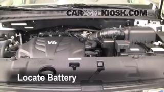 How to Clean Battery Corrosion: 2006-2014 Kia Sedona