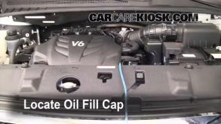 How to Add Oil Kia Sedona (2006-2014)