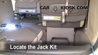 2006-2012 Kia Sedona Jack Up How To