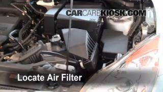 2010-2013 Mazda 3 Engine Air Filter Check