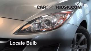 Headlight Change 2010-2013 Mazda 3