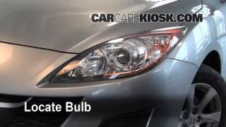 Front Turn Signal Change Mazda 3 (2010-2013)
