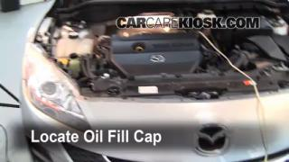 How to Add Oil Mazda 3 (2010-2013)