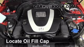 How to jumpstart a 2010 2013 mercedes benz e350 2010 for 2010 mercedes benz e350 motor oil