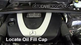 How to Add Oil Mercedes-Benz R350 (2006-2012)