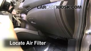 2007-2010 Mitsubishi Outlander Cabin Air Filter Check