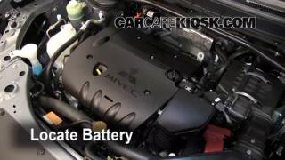 How to Clean Battery Corrosion: 2007-2010 Mitsubishi Outlander