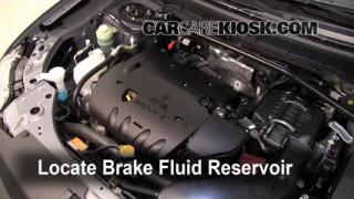 Add Brake Fluid: 2007-2010 Mitsubishi Outlander