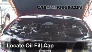 How to Add Oil Nissan Pathfinder (2005-2012)