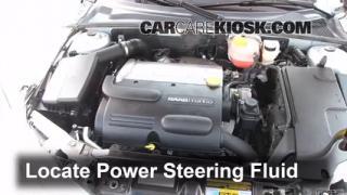 Saab T L Cyl Turbo Sedan Fpower Steering Part on Buick Power Steering Leak
