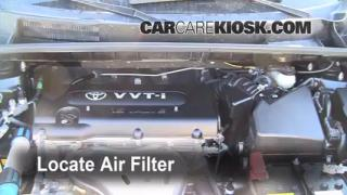 2008-2013 Scion xB Engine Air Filter Check