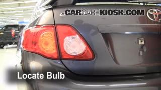 Tail Light Change 2009-2013 Toyota Corolla