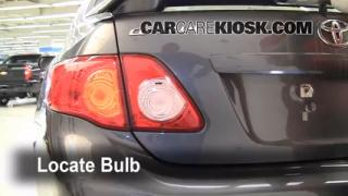 Reverse Light Replacement 2009-2013 Toyota Corolla