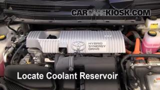 How to Add Coolant: Toyota Prius (2010-2013)