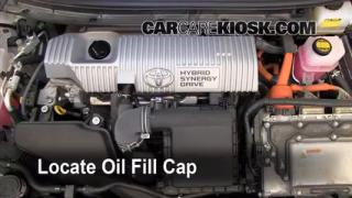 How to Add Oil Toyota Prius (2010-2013)