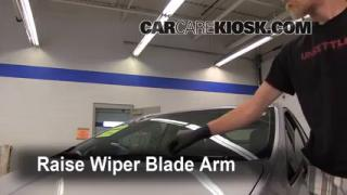 Front Wiper Blade Change Toyota Prius (2010-2013)
