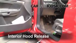 Open Hood How To 2005-2014 Volkswagen Jetta