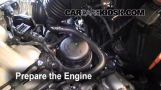engine oil change mk5 vw jetta tdi 2005 2006 vw tdi html. Black Bedroom Furniture Sets. Home Design Ideas