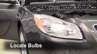 Parking Light Change 2011-2013 Buick Regal