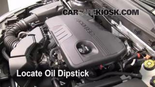 Check Oil Level 2011-2013 Buick Regal