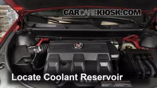how to change spark plugs on cadillac srx 2010