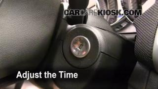 How to Set the Clock on a Chevrolet Cruze (2011-2013)