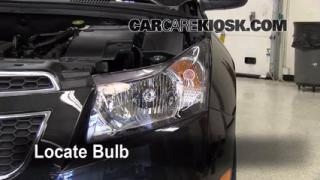 Highbeam (Brights) Change: 2011-2013 Chevrolet Cruze