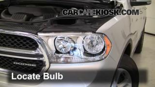 Headlight Change 2011-2013 Dodge Durango