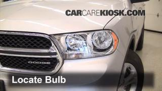 Parking Light Change 2011-2013 Dodge Durango