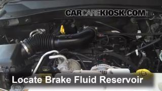 Add Brake Fluid: 2007-2011 Dodge Nitro