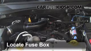 2007-2011 Dodge Nitro Interior Fuse Check