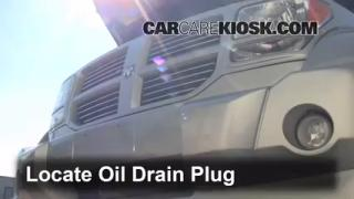 Oil & Filter Change Dodge Nitro (2007-2011)