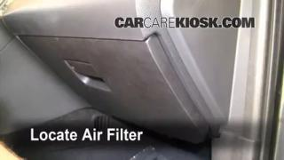 Cabin Filter Replacement: 2010-2013 Ford Taurus