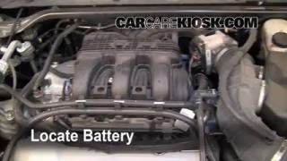 Battery Replacement: 2010-2013 Ford Taurus
