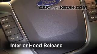 Open Hood How To 2010-2013 Ford Taurus