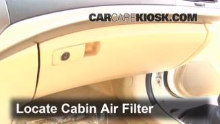 Cabin Filter Replacement: Honda Accord 2008-2012