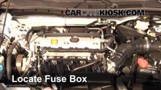 Blown Fuse Check 2008-2012 Honda Accord
