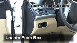 2008-2012 Honda Accord Interior Fuse Check