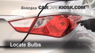 Tail Light Change 2011-2014 Hyundai Sonata