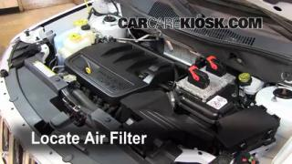 2011-2014 Jeep Compass Engine Air Filter Check