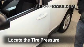 Properly Check Tire Pressure: Dodge Caliber (2007-2012)