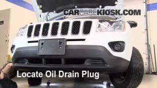 Oil & Filter Change Jeep Compass (2011-2014)