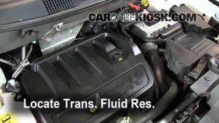 Add Transmission Fluid: 2007-2012 Dodge Caliber
