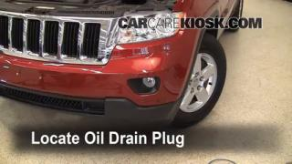 Oil & Filter Change Jeep Grand Cherokee (2011-2013)