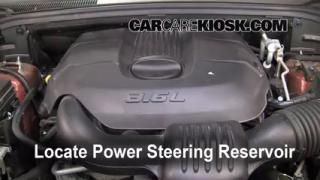 Follow These Steps to Add Power Steering Fluid to a Jeep Grand Cherokee (2011-2013)