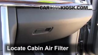 Cabin Filter Replacement: 2009-2013 Lincoln MKS