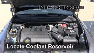 Coolant Level Check: 2009-2013 MKS