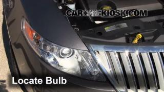 Headlight Change 2009-2013 Lincoln MKS