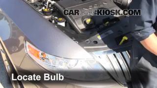 Parking Light Change 2009-2013 Lincoln MKS